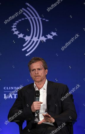 Nike's President and Ceo Mark Parker Participates in the Session 'Mobilization For the Future' of the Clinton Global Initiative For Latin America in Rio De Janeiro Brazil 10 December 2013 Political Business and Civil Leaders From the Region Participated in the Event Brazil Rio De Janeiro