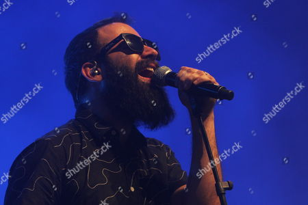Sebu Simonian Singer and Song-writer of Us Band Capital Cities Performs in a Concert at the Caupolican Theater in Santiago Chile 30 November 2014 Chile Santiago