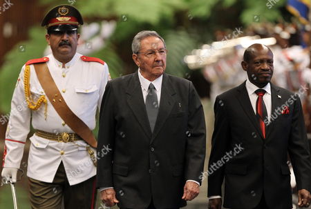 Editorial picture of Cuba St Kitts and Nevis Diplomacy - Jun 2014