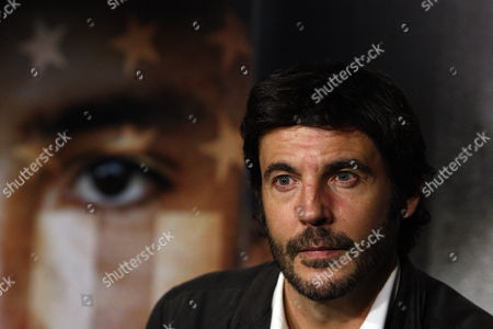 Spanish Filmmaker Diego Quemada-diez Adresses a Press Conference in Mexico City Mexico 06 May 2014 Quemada-diez is Presenting His Movie 'The Golden Dream' ('la Jaula De Oro' (original Title)) About Immigrants Trying to Reach United States Mexico Mexico City