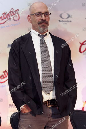Mexican Director Sebastian Del Amo Attends a Press Conference to Present the Movie 'Cantinflas' in Mexico City Mexico 08 September 2014 the Movie Will Be Released in Mexico on 18 September Mexico Mexico City