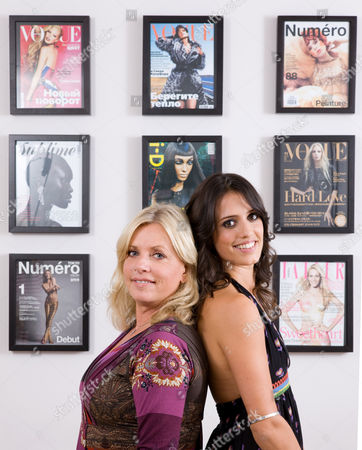 Editorial image of Sarah and Noelle Doukas of the Storm Model Agency, London, Britain - 04 Sep 2008