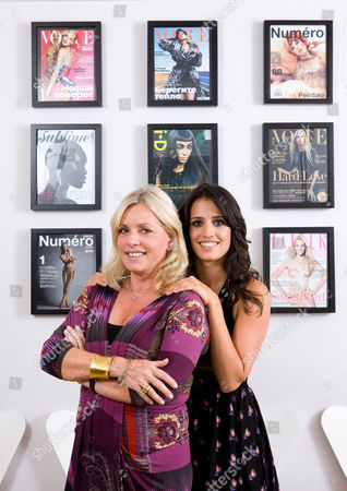 Sarah Doukas and daughter Noelle Doukas