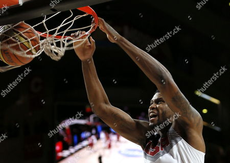 Us Power Forward Rudy Gay Dunks During the Fiba Basketball World Cup Final Match Between the Usa and Serbia in Madrid Central Spain 14 September 2014 Spain Madrid