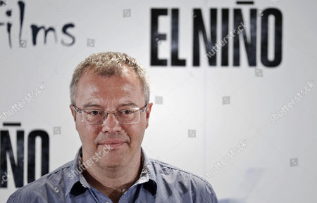 Spanish Director Daniel Monzon Poses During the Presentation of His Movie 'El Nino' (the Kid) in Madrid Spain 26 August 2014 the Movie Movie Opens in Spanish Theaters on 29 August Spain Madrid