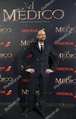 German Director Philipp Stoelzl Poses For the Media During the Premiere of 'The Physician' in Madrid Spain 19 December 2013 the Movie Based on the Novel of the Same Title by Us Writer Noah Gordon Opens in Spanish Cinemas on 25 December Spain Madrid