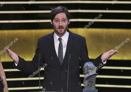 Spanish Film Maker Carlos Marques-marcet Receives the Goya For the Best First Film For His Film '10 000 Kilometres' During the 29th Goya Awards Ceremony Held in Felipe Vi Congress in Madrid Spain 07 February 2015 the Goya Awards Are the Main National Annual Film Awards in Spain Spain Madrid