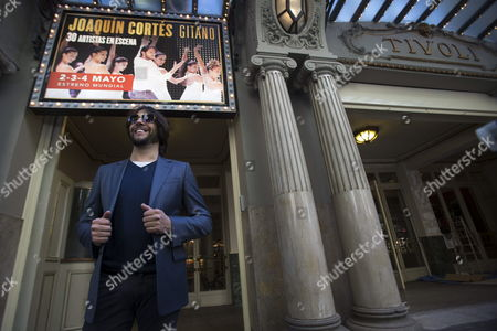 Spanish Flamenco Dancer Joaquin Cortes Poses For the Media During the World Presentation of His New Show 'Gitano' at Tivoli Theater in Barcelona Northeastern Spain 28 April 2014 the Performance Will Run From 02 Until 04 May 2014 Spain Barcelona