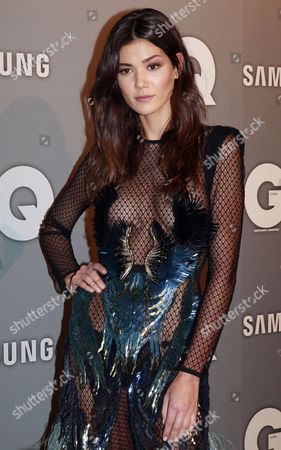 Spanish Model Sheila Marquez Attends the Ceremony Award of the ' Gq Hombres Del Ano 2013 (men of the Year)' Awards Ceremony in Madrid Spain 18 November 2013 Marquez Received the Woman of the Year Award at the Event of the Spanish Gq Magazine Spain Madrid