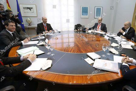 Editorial image of Spain France Diplomacy - Nov 2013