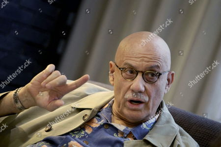 Us Writer James Ellroy Talks During an Interview with Spanish Press Agency Agencia Efe in a Coruna Galicia Northwestern Spain 16 April 2015 Ellroy Presented His Book 'Perfidia' a Novel Set in Los Angeles During World War Ii Spain a Coru±a