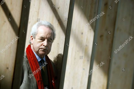 Irish Writer John Banville who Signs His Noir Novels As Benjamin Black Poses During an Interview with Spanish News Agency Efe on the Occassion of the Fourth Corunamayusculas Festival (coruna's Capital Letter) at the Main Square of La Coruna Spain 25 March 2015 Spain La Coruna
