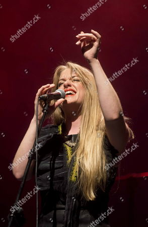 Stock Image of A Picture Made Available on 15 November 2014 Shows British Singer and Composer Jo Harman During Her Concert at the 34th Jazz Festival of Cartagena in Murcia South-eastern Spain 14 November 2014 the Festival Runs From 01 to 22 November Spain Cartagena