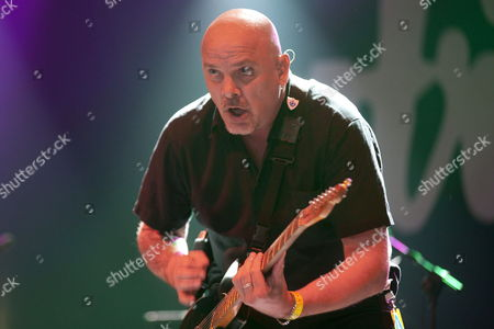 Singer and Guitarist of British Band 'The Stranglers' Baz Warne Performs on Stage During Their Azkena Rock Festival Openning Concert in Vitoria Spain 20 June 2014 Spain Vitoria