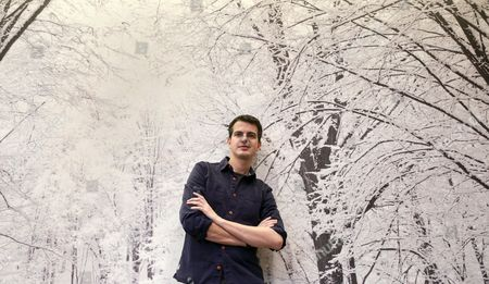 French Counter-tenor Philippe Jaroussky Poses For the Photographer During an Interview with Spanish Press Agency Agencia Efe in Madrid Spain 15 January 2015 Jaroussky Announced That He Will Return to Opera This Year Spain Madrid