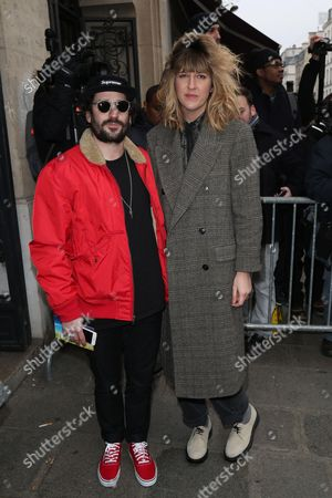 Stock Photo of Gunther Love and Daphne Burki attend the Jean Paul Gaultier Haute Couture Spring Summer 2017 fashion show as part of Paris Fashion Week on January 25, 2017.//HAEDRICHJM_020JMH/Credit:Jean-Marc Haedrich/SIPA/1701260718