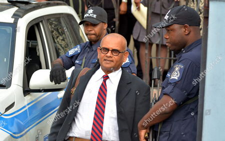 Stock Photo of Fyard Hosein Defense Lawyer of Former Fifa Vicepresident Austin Jack Warner is Seen Outside the Court After a Hearing in the Corruption Case of Fifa in Port of Spain Trinidad and Tobago 27 May 2015 Warner who was Also the Former President of Concacaf was Named Among Current and Former Fifa Officials Indicted by the United States Justice Department Following a Three-year Investigation Into in a Corruption and Bribery Scandal the Fifa Officials Seven of Whom Were Arrested in Zurich Switzerland Are Being Charged with Racketeering Wire Fraud Conspiracy and Corruption Which They Allegedly Engaged in to Enrich Themselves While Working For the the International Soccer Body Fifa Trinidad and Tobago Port of Spain