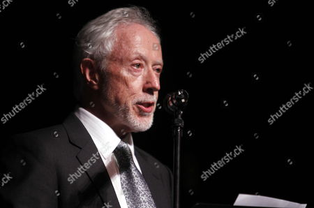 South African Writer John Maxwell Coetzee 2003 Literature Nobel Winner Participates in the Conference 'The Idea of a Personal Library' at Solis Theater in Montevideo Uruguay 05 May 2014 Uruguay Montevideo