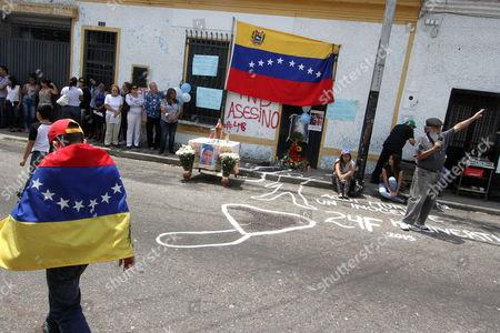 Editorial photo of Venezuela Protests - Feb 2015