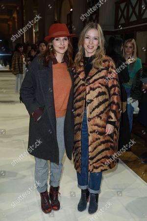 Elodie Navarre and Lea Drucker