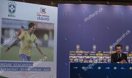 Brazilian National Soccer Team Coach Carlos Dunga Announces the Squad For the 2015 Copa America Soccer Tournament During a Press Conference in Rio De Janeiro Brazil 05 May 2015 the Tournament Will Be Held in Chile From 11 June to 04 July 2015 Brazil Rio De Janeiro