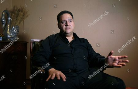 A Picture Made Avalaible on 08 November 2014 Shows Sebastian Marroquin Born Juan Pablo Escobar Speaking During an Interview in Bogota Colombia 07 November 2014 the Son of Late Colombian Drug Lord Pablo Escobar Presented His Book Entitled 'Pablo Escobar: Mi Padre' (pablo Escobar: My Father) Colombia Bogota