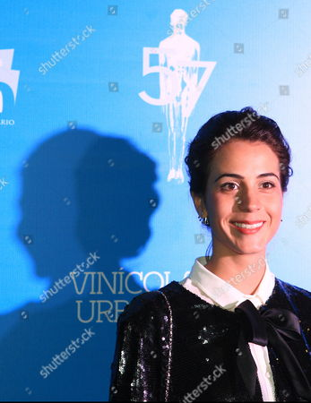 Mexican Actress Cassandra Ciangherotti a Nominee For the 57th Edition of the Ariel Awards Poses During an Event in Mexico City Mexico 13 May 2015 the Ceremony of the Ariel Awards Considered As the Mexican Oscars Will Be Held on 27 May at Fine Arts Palace the Event is Organized by the Mexican Academy of Arts and Cinematographic Sciences Mexico Mexico