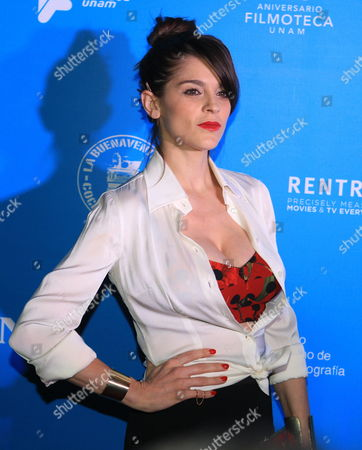 Mexican Actress Irene Azuela a Nominee For the 57th Edition of the Ariel Awards Poses During an Event in Mexico City Mexico 13 May 2015 the Ceremony of the Ariel Awards Considered As the Mexican Oscars Will Be Held on 27 May at Fine Arts Palace the Event is Organized by the Mexican Academy of Arts and Cinematographic Sciences Mexico Mexico