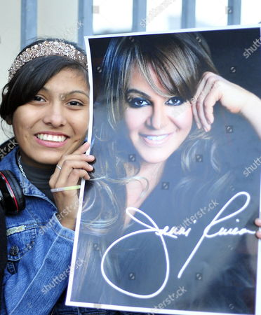 A Fan of Late Mexican - Us Singer Jenni Rivera (in the Poster) Commemorates the First Anniversary of Her Death at Arena Monterrey in Monterrey Mexico 09 December 2013 Rivera Died on 08 December 2012 in an Airplane Accident in the Mexican Municipality of Iturbide in the State of Nuevo Leon After Performing in a Concert at Arena Monterrey Mexico Monterrey