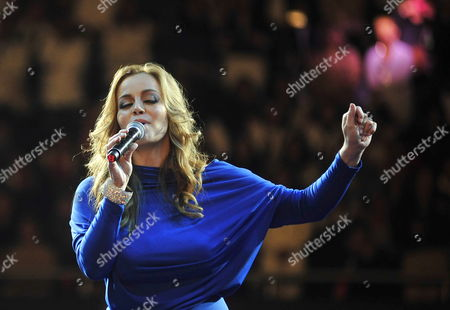 Rosie Rivera Sister of Late Mexican - Us Singer Jenni Rivera Performs During the First Anniversary of Her Sister?s Death at Arena Monterrey in Monterrey Mexico 09 December 2013 Rivera Died on 08 December 2012 in an Airplane Accident in the Mexican Municipality of Iturbide in the State of Nuevo Leon After Performing in a Concert at Arena Monterrey Mexico Monterrey
