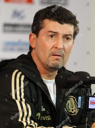 Jose Manuel De La Torre Head Coach of the Mexican National Soccer Team Speaks During a Press Conference in Mexico City Mexico 05 September 2013 Mexico Receives Honduras For a Fifa World Cup 2014 Qualifier on 06 September Mexico Mexico City