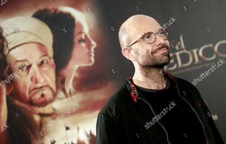 German Director Philipp Stoelzl Poses During the Presentation of 'The Physician' in Madrid Spain 19 December 2013 the Movie Based on the Novel of the Same Title by Us Writer Noah Gordon Opens in Spanish Cinemas on 25 December Spain Madrid