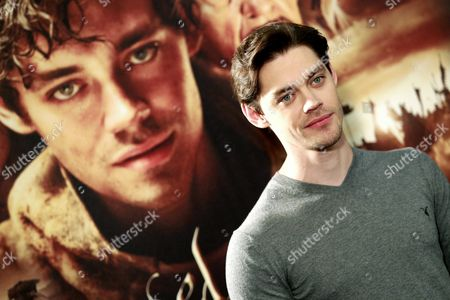 British Actor Tom Payne Poses During the Presentation of 'The Physician' in Madrid Spain 19 December 2013 the Movie Based on the Novel of the Same Title by Us Writer Noah Gordon Opens in Spanish Cinemas on 25 December Spain Madrid