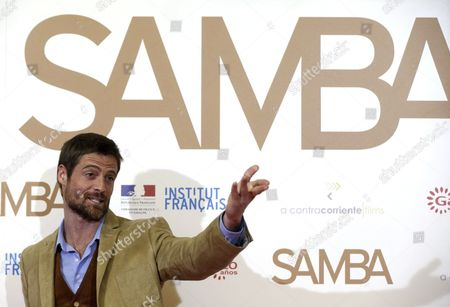 British Actor William Miller Poses During the Presentation of 'Samba' at the Palafox Theatre in Madrid Spain 12 February 2015 the Movie Opens in Spanish Cinemas on 27 February Spain Madrid
