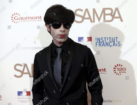 Us Actor Michael Brando the Grandson of Us Acting Legend Marlon Brando Poses During the Presentation of 'Samba' at the Palafox Theatre in Madrid Spain 12 February 2015 the Movie Opens in Spanish Cinemas on 27 February Spain Madrid