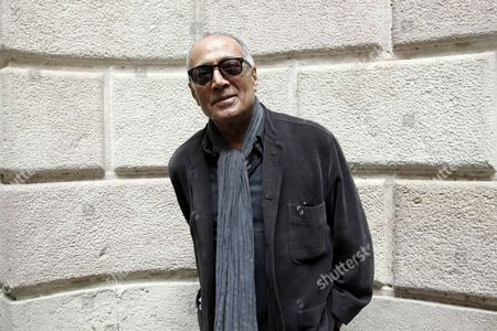 Iranian Filmmaker Abbas Kiarostami Smiles During an Interview Wih Spanish Press Agency Agencia Efe in Barcelona Spain 26 February 2015 Kiarostami is in the City For a Film Workshop with 50 Students Spain Barcelona