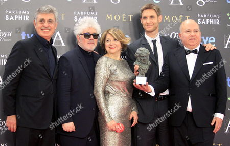 Editorial image of Spain Cinema - Feb 2015