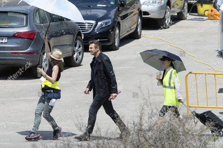 Irish Actor/cast Member Liam Neeson (c) During the Shooting of the Film 'Taken 3' in the Coastal City of Cartagena Murcia Region Eastern Spain 23 June 2014 the Film Directed by French Film Maker Olivier Megaton Will Be Premiered in January 2015 Spain Cartagena