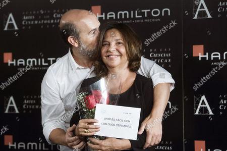 Editorial photo of Spain Cinema Academy Awards - Sep 2014
