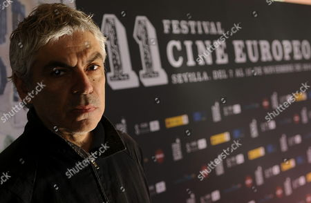 Portuguese Film Director Pedro Costa Poses For the Media During the Presentation of His New Movie 'Cavalo Dinheiro' During the European Film Festival in Seville Spain 10 November 2014 the Festival is Held Between 07 and 15 November Spain Sevilla