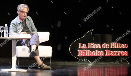 A Picture Made Available 01 October 2013 Shows Spanish Designer Javier Mariscal Attending a Discussion on the Frame of 'Bilbao's Laugh Festival' (la Risa De Bilbao) in Bilbao Spain 30 September 2013 the Humor Festival Also Counts with an Exhibition Showing the Works of Us Comic Author Robert Crumb Spain Bilbao