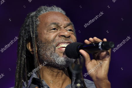 Us Singer Bobby Mcferrin Performs on Stage During His Jazz Festival Concert at the Trinidad Square in San Sebastian Northern Spain on 24 July 2014 Spain San Sebastißn