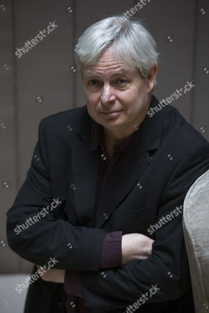 British Writer Jonathan Coe Poses During an Interview to Present the Spanish Translation of His Last Novel 'Expo 58' Held in Barcelona Catalonia Spain 04 February 2015 Coe Well-kown For His Novel 'What a Carve Up!' in His Last Book Wrote the Story of a Man Whose Mission is Overseeing the Pub During the Six Months of the Brussels World's Fair Spain Barcelona