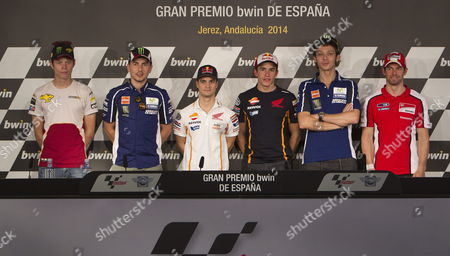 Editorial image of Spain Motorcycling Grand Prix - May 2014