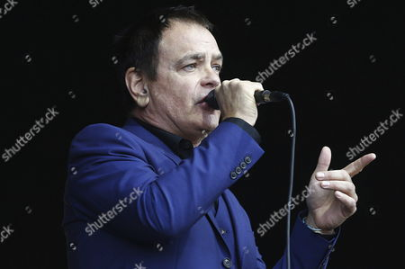 British Cinerama's Singer David Gedge Performs on the Stage During the Previous Day of the Music Festival 'Primavera Sound' Held at Parc Forum of Barcelona Catalonia Spain 27 May 2015 the Event Runs From 28 to 30 May Spain Barcelona