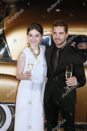 A Picture Made Available on 26 November 2014 Shows Spanish Singer David Bisbal (r) and Actress Maria Valverde (l) Posing During the Presentation of the Traditional Christmas Spot of Freixenet 'Cava' (sparkling White Wine) at Sant Saduri D'anoia in Barcelona Spain 25 November 2014 Since 1977 Personalities Such As Gene Kelly Christopher Reeve Shirley Mclaine Shakira Sharon Stone Pierce Brosnan Gwyneth Paltrow Meg Ryan Antonio Banderas Or Anthony Quinn Have Already Taken Part in the Christmas Spot of Freixenet a Brand of a Drink That is Traditionaly Consumed in Spain During Christmas and Specially in New Years Eve Spain Barcelona