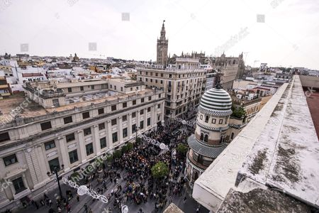 The Funeral Procession For Cayetana Fitz-james Stuart the Duchess of Alba is Underway in Seville Spain 21 November 2014 the Spanish Aristocrat Died Aged 88 at Home on 20 November After a Short Illness Spain Seville