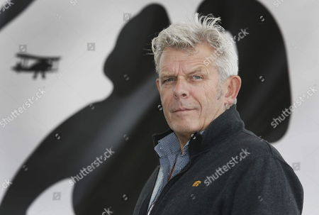 Stock Image of Dutch Filmmaker Alex Van Warmerdam Poses During the Presentation of Their Film 'Borgman' During the 47th Sitges International Fantastic Film Festival in Sitges Outside Barcelona Spain 15 October 2013 the Festival Runs From 11 to 20 October Spain Sitges (barcelona)
