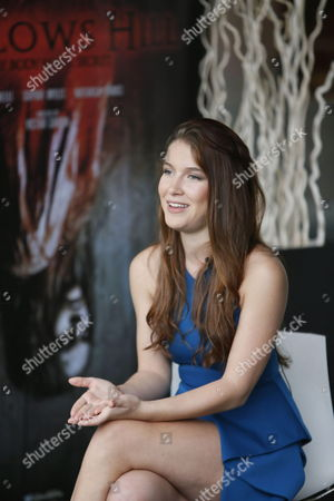 Spanish Actress/cast Member Nathalia Ramos Poses During the Presentation of the Film 'Gallows Hill' at the 46th Sitges International Fantastic Film Festival in Sitges Outside Barcelona Spain 18 October 2013 the Festival Runs From 11 to 20 October Spain Barcelona