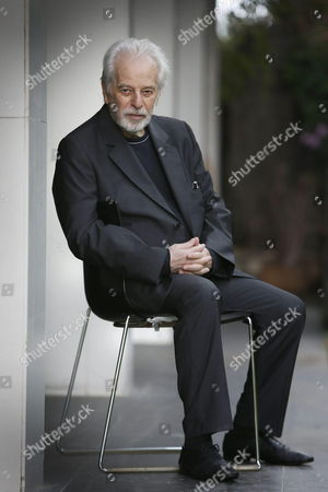 Stock Photo of Chilean Filmmaker Alejandro Jodorowsky Poses During an Interview During the Presentation of His Film 'La Danza De La Realidad' (the Dance of Reality' at the 46th Edition of the Sitges Film Festival in Sitges Spain 17 October 2013 the Festival Runs From 11 to 20 October Spain Sitges (barcelona)